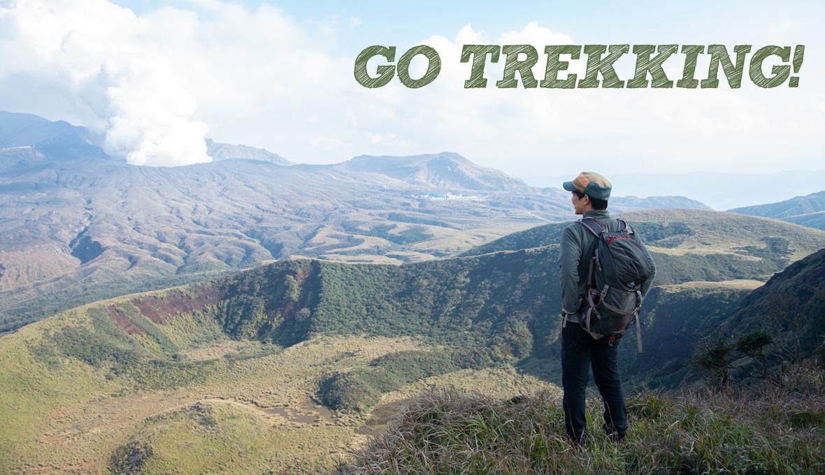 trekking image
